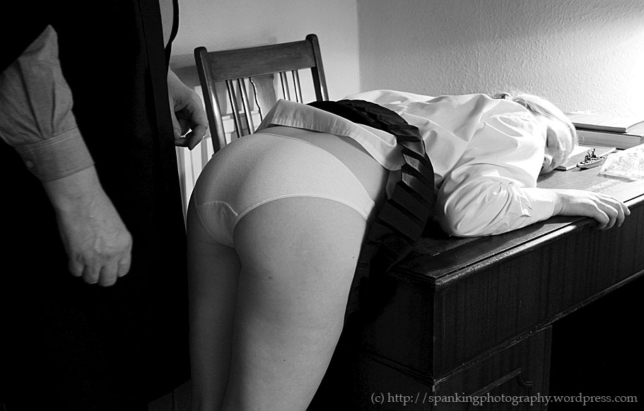 Panties down spank pics