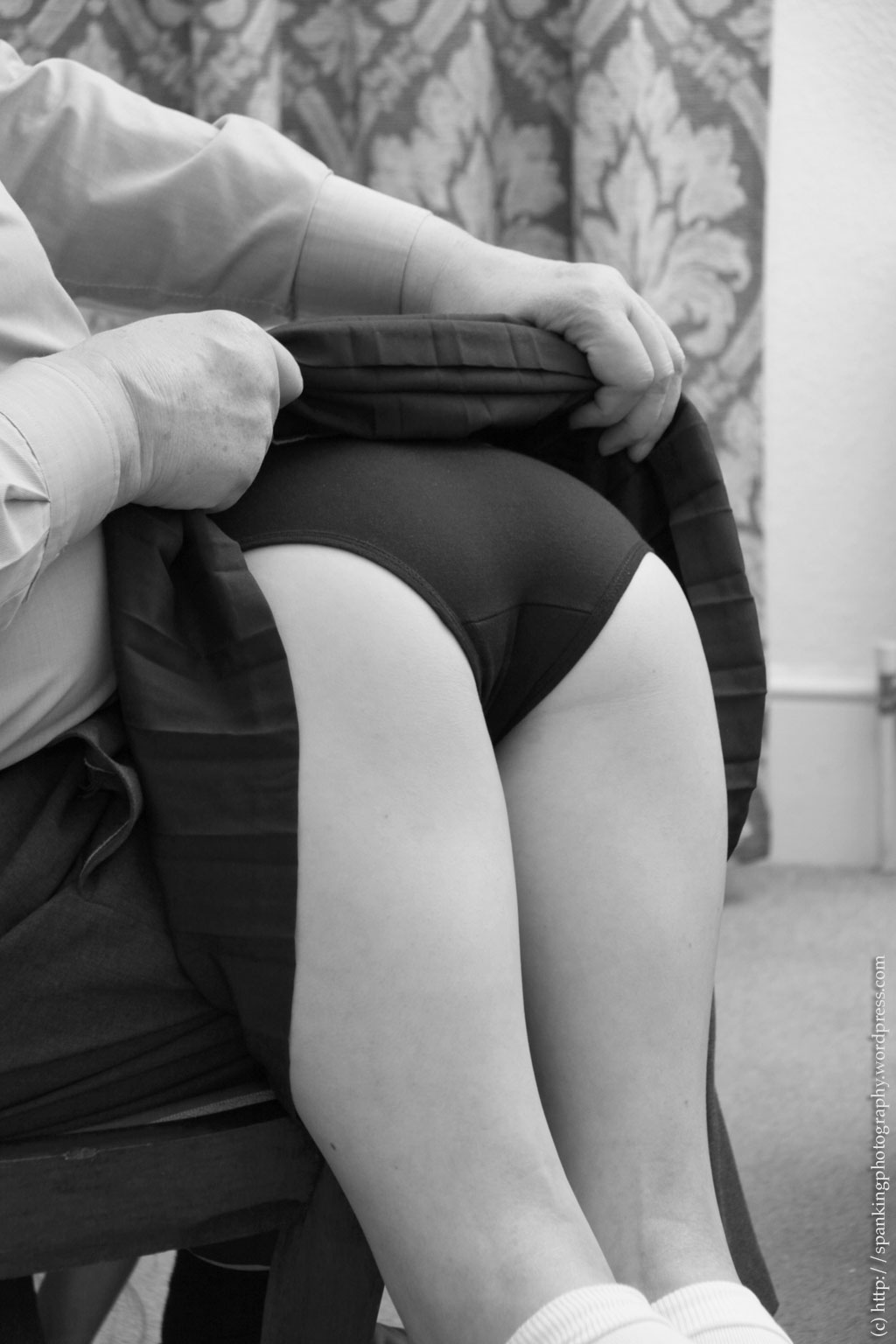 spanking girls panties